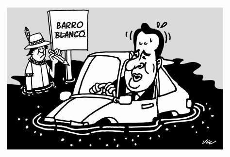 Caricatura del periódico la prensa
